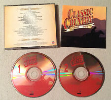 CLASSIC COUNTRY 1950 - 1959 ( TIME LIFE TL 626/03 ) RARE - DOUBLE CD COMME NEUF