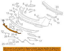 Acura HONDA OEM 14-16 MDX Rear Bumper-Lower Trim 71508TZ5A00