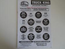 TRUCK KING edizione 9, volume 5 catalogo solo... RADIO _ Trader _ Irlanda.