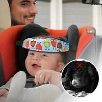 Toddler Car Seat Neck Relie Head Support Band Pillow Baby Cute Cartoon Head Band
