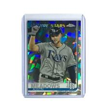 Austin Meadows Tampa Bay Rays Topps MLB Future Stars Chrome Sapphire Card
