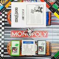 Monopoly ~ NASCAR EDITION 2002 Replacement Game Pieces, Property Cards, & Manual