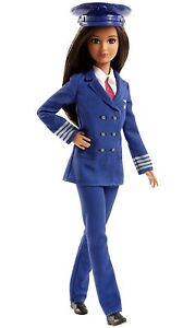 Mattel Barbie Careers Pilot Doll