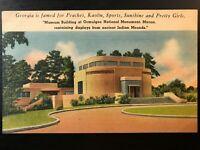 Vintage Postcard>1930-1945>Ocmulgee National Monument Museum>Macon>Georgia