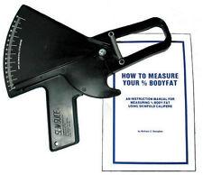 Slim Guide Skin Fold Caliper, The Original, Made In USA, Black