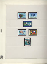 NAZIONI UNITE ONU VIENNA 1979/1995 TUTTI I FRANCOBOLLI NUOVI ** SU FOGLI SAFE
