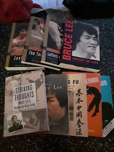 Bruce lee book Bundle / Job Lot 9 Books