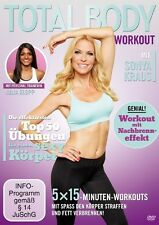 TOTAL BODY WORKOUT MIT SONJA KRAUS  DVD NEW+