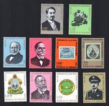 New listing Honduras - 10 mint never hinged Centenary of 1st Honduran postage stamp