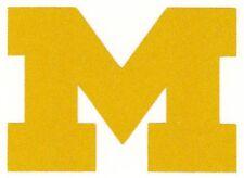 REFLECTIVE Michigan Wolverines fire helmet decal sticker yeti hardhat