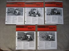 Lot of 5 Case Tractor Brochure 2094 2594 2394 2294 3294 Brochures