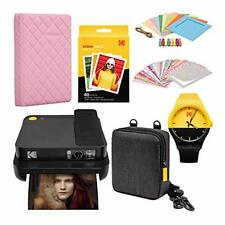 KODAK Smile Classic Digital Instant Camera with Bluetooth (Black) Scrapbook Phot