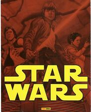 STARWARS  SUPERBE DEPLIANT PUBLICITAIRE PANINI 8 PAGES  !!!