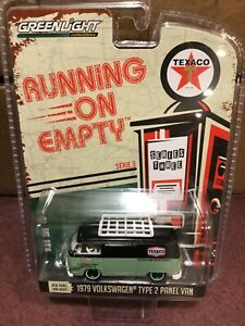 Greenlight Running On Empty 1979 Volkswagen van  Texaco   GREEN MACHINE