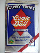1990 Upper Deck Looney Tunes Trading Cards -3 Packs Of Cards - 12 Cards per Pack