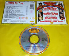 I GRANDI DELLA CANZONE ITALIANA - Joker 1990 - VA Various Artists 1990