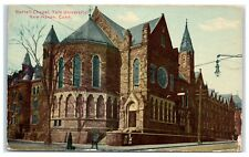 1913 Battell Chapel, Yale University, New Haven, CT Postcard