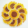 Yellow Sunflower Sew on/Iron on Embroidered  Patch Diy Craft Clothes Applique