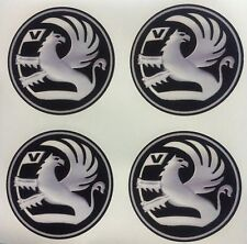 4 x Wheel stickers fits VAUXHALL 65 mm center badge centre trim cap hub alloy xz