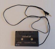 Maxell CD-330 Cassette Adapter    F