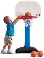 NEW Little Tikes EasyScore Basketball Set Blue  3 Ball Amazon Exclusive