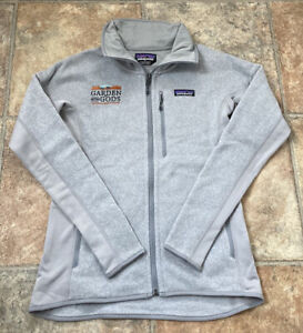 PATAGONIA - WOMENS - BETTER SWEATER JACKET - GARDEN OF THE GODS - GREY SMALL NEW