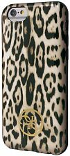 """GUESS Collection Animale Stampa Leopardata TPU Case per iPhone 6 6S 4,7 """"MARRONE"""