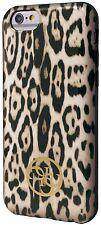 "Guess Animal Colección Leopard Print Tpu Funda Para Iphone 6 6s 4,7 ""Marrón"