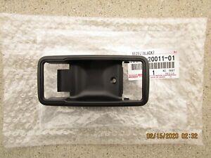 78 - 81 TOYOTA CELICA FRONT DRIVER SIDE INTERIOR DOOR HANDLE BEZEL TRIM OEM NEW