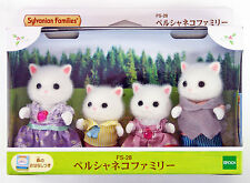 JP Sylvanian Families (Calico Critters) FS-28 Persian Cat Family Set