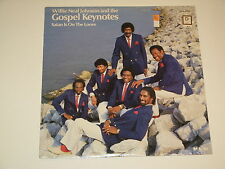 WILLIE NEAL JOHNSON AND THE GOSPEL KEYNOTES satan is on the loose Lp RECORD