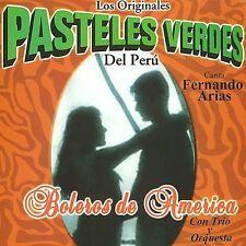 Pasteles Verdes : Boleros De America Con Trio Y Orquesta CD