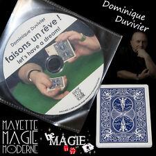 DUVIVIER - Faisons un rêve ! + DVD - Magie - Qualité Bicycle