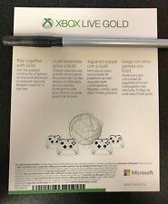 Microsoft Xbox Live Gold 14 Day Trial UNUSED