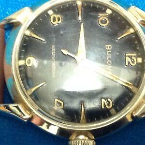 Bulova 17 Jewels-Vintage 1956 Serviced Mens Wristwatch-
