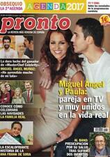 SPANISH PRONTO MAGAZINE: PAULA ECHEVARRIA / MIGUEL ANGEL SILVESTRE / WALT DISNEY