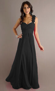Long bridesmaid dress evening cocktail, heavy quality material all sizes