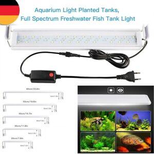 LED Aquarium Licht Fisch Pflanzen Abdeckung Beleuchtung Spektrum Lampe