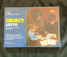 Vintage Object Lotto Edu Cards