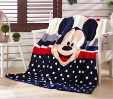 Mickey Mouse Baby Kuscheldecke Tagesdecke Microfaser Decke Wohndeck Geschenk NEU