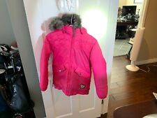 Youth Girl's Burton Ski Snowboard Jacket Pink Large 10-12 DryRide Sugar & Spice