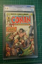 CONAN THE BARBARIAN #52 CGC GRADED 9.4 VERY FEW OF #52 WAS GRADED ONLY 17 HIGHER