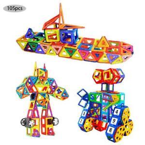 X105 Magformers Spielzeug 3D Ziegel Magnetische Bausteine Pädagogisches Set DE