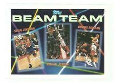1992-93 Topps Beam Team #3 Kevin Johnson/Michael Jordan/Dennis Rodman (ref 94307