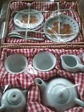 New listing childrens wicker picnic basket