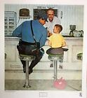 Norman Rockwell The Runaway Poster 22.5 x 25.5