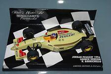 Minichamps F1 1/43 JORDAN PEUGEOT 1996 LAUNCH VERSION BARRICHELLO