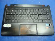 "HP ENVY 4-1025TX 15.6"" Genuine Palmrest w/Touchpad Keyboard Speakers AM0QJ000700"