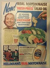 Hellmann's Real Mayonnaise Ad from 1930's-40's