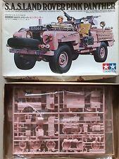Tamiya 1/35th WW2 British SAS Land Rover Pink Panther Detailed Model Kit 35076